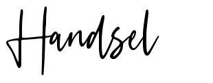 Handsel
