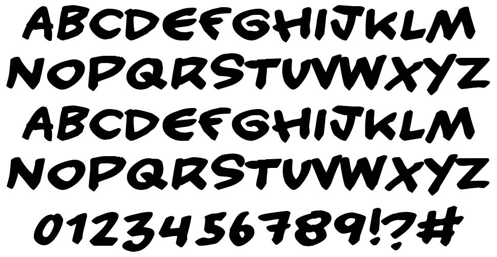Handy Candy font