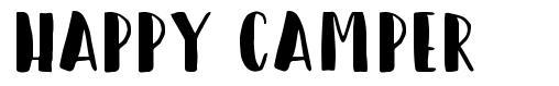Happy Camper font