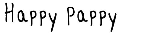 Happy Pappy font