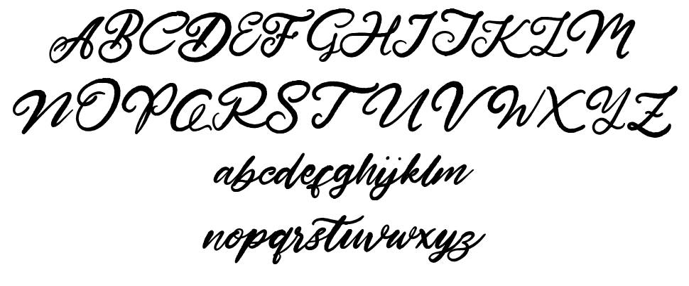 Hardest Style 字形