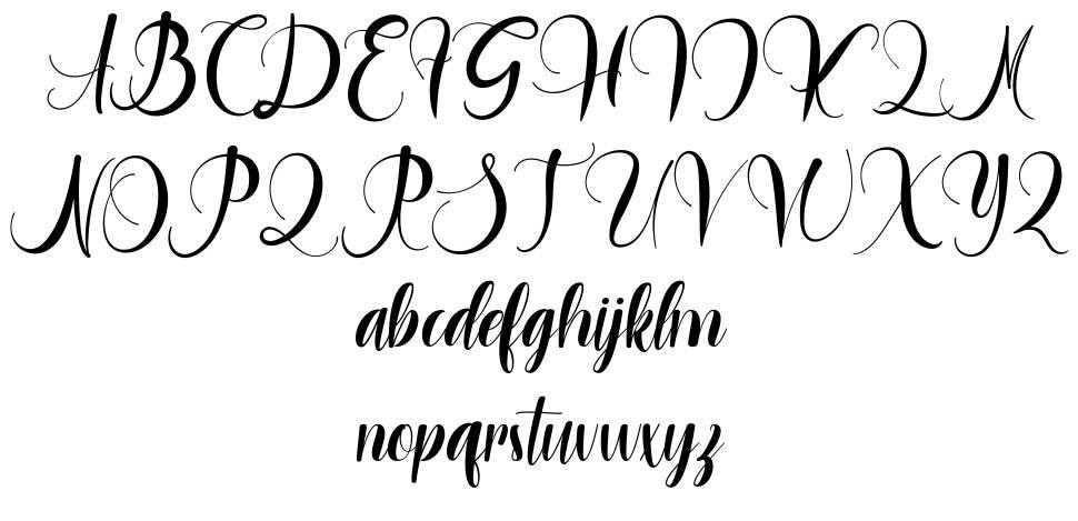 Hargrey Molly font