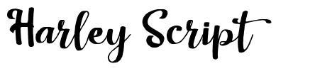 Harley Script font