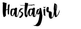 Hastagirl font