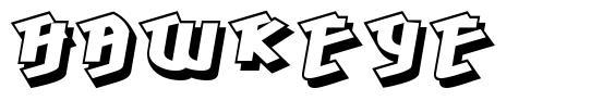 Hawkeye 字形
