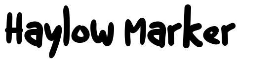 Haylow Marker