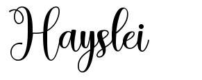Hayslei