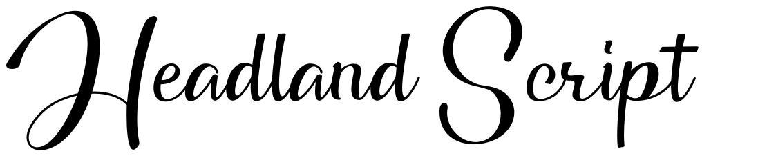 Headland Script