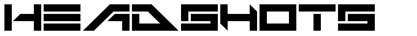 Headshots font