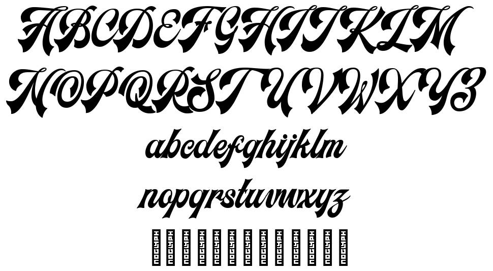 Headster font