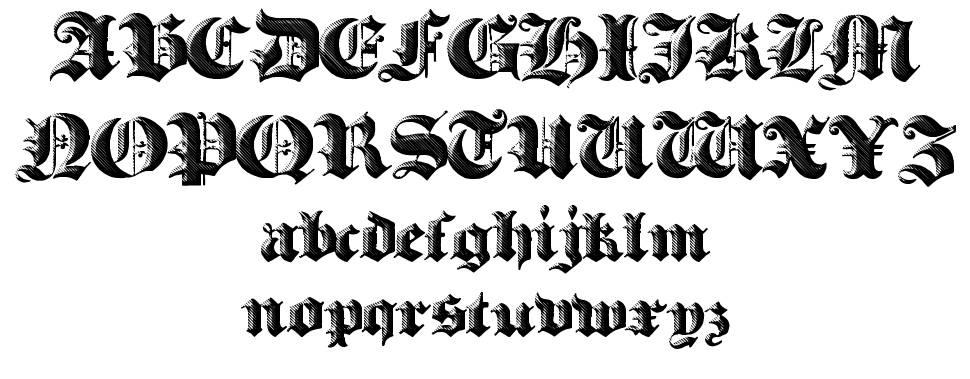 Heavy Gothik font