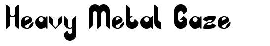 Heavy Metal Gaze font