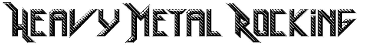 Heavy Metal Rocking font