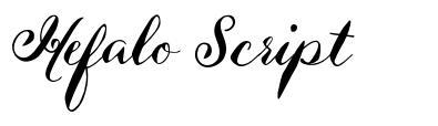 Hefalo Script