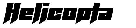 Helicopta font