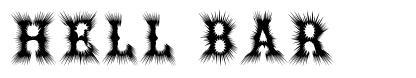 Hell Bar font