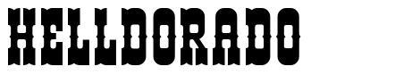 Helldorado 字形