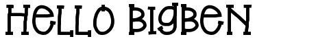 Hello BigBen
