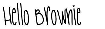 Hello Brownie