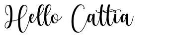 Hello Cattia