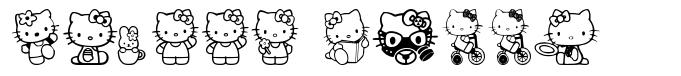 Hello Kitty font