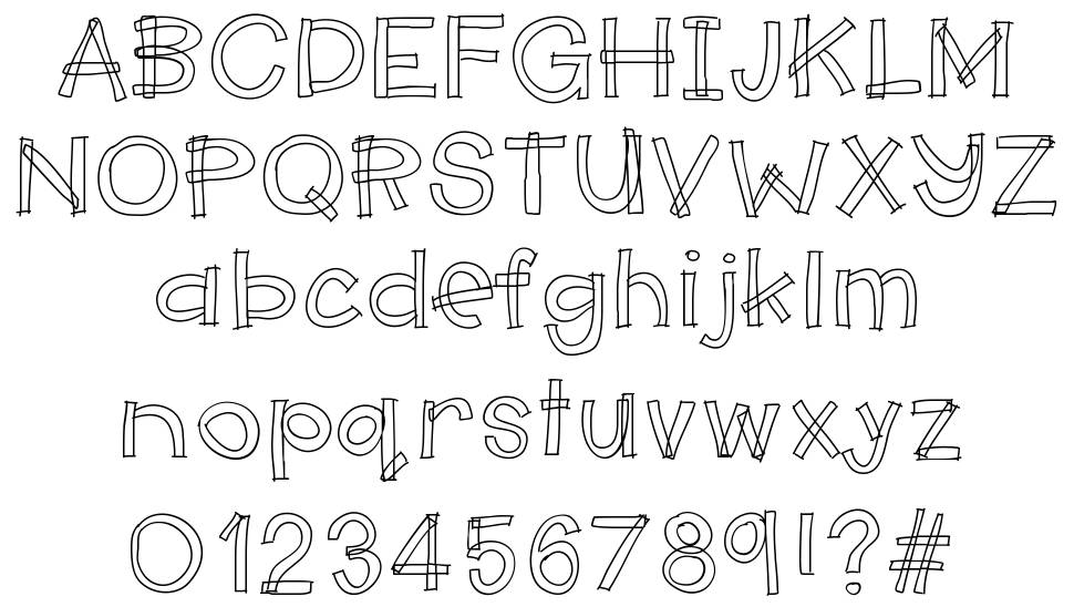 Hello Makerspace font