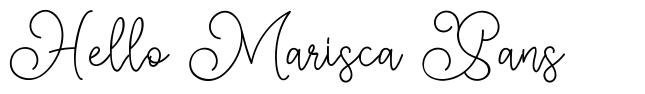 Hello Marisca Sans
