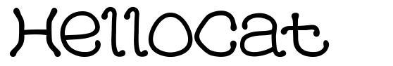HelloCat font