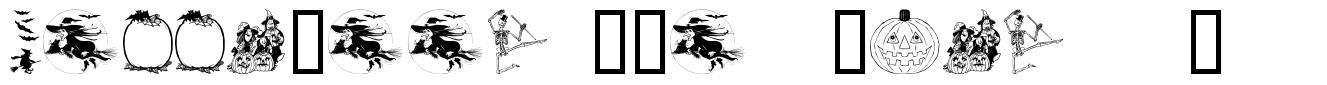 Helloween (version 2) schriftart