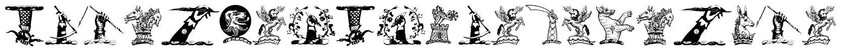 Helmbusch Crest Symbols フォント