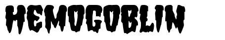 Hemogoblin font