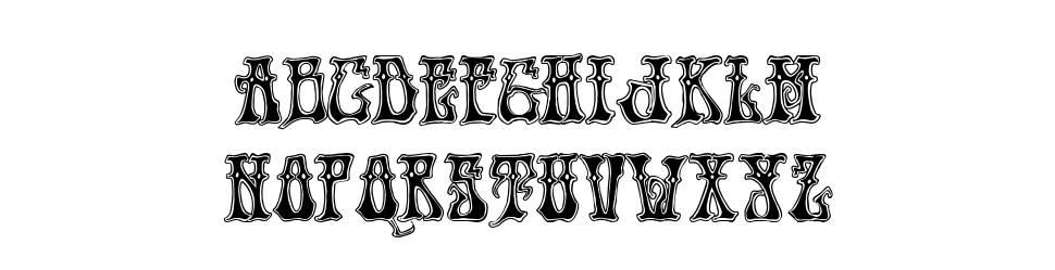 Hendrix 字形