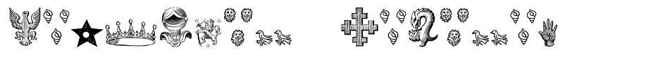 Heraldic Devices font
