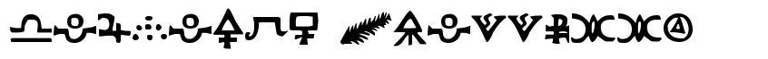Hermetic Spellbook font