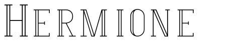 Hermione font