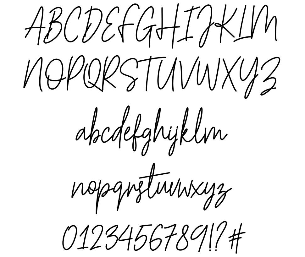 Hesterica font