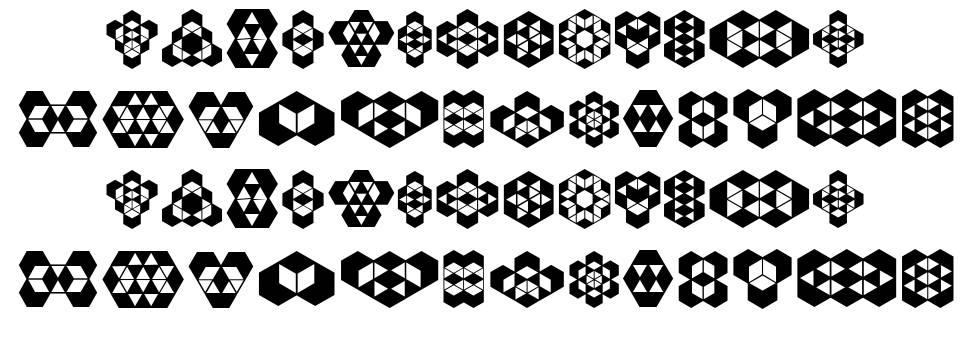 Hexagonos fonte