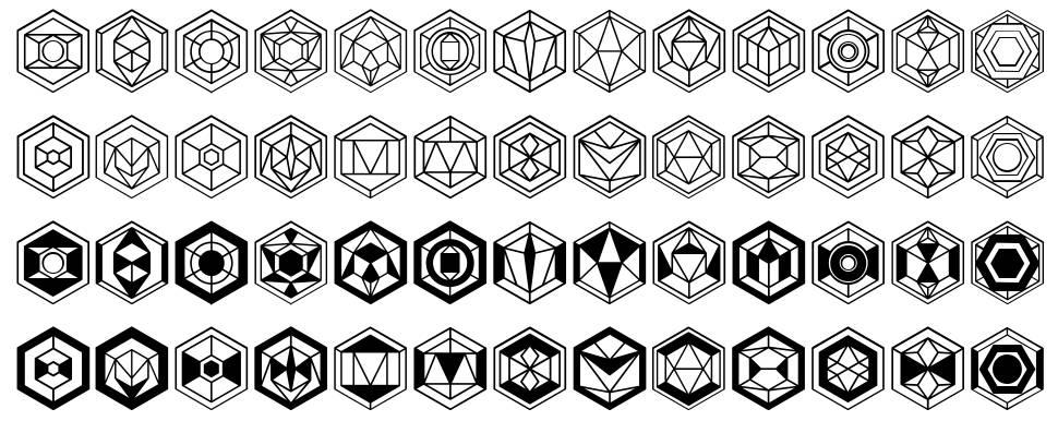 Hexagons police