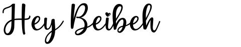 Hey Beibeh