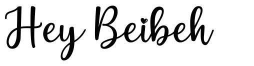 Hey Beibeh fonte