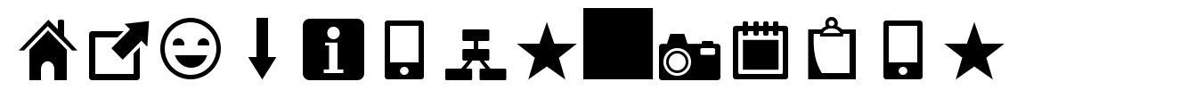 Heydings Icons font