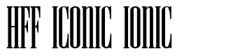 HFF Iconic Ionic