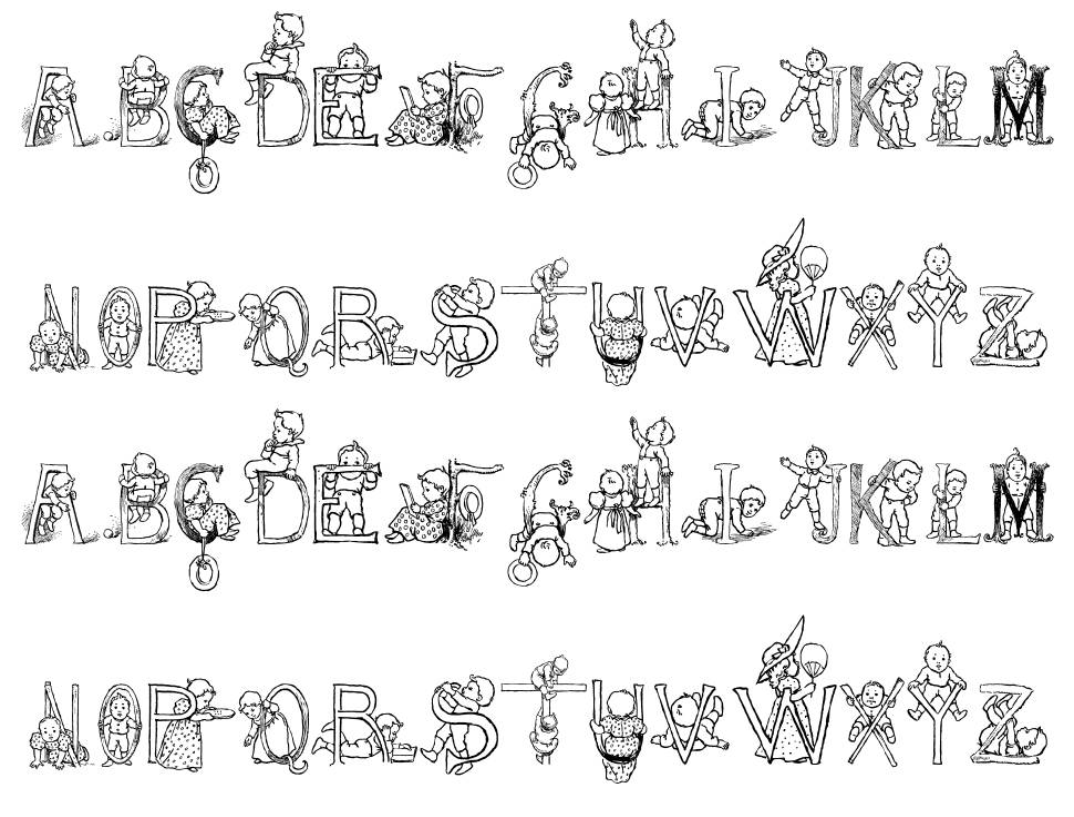 HFF Kids Stuff font