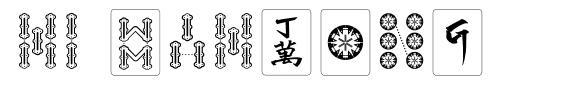 Hi Mahjong font