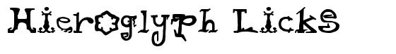 Hieroglyph Licks