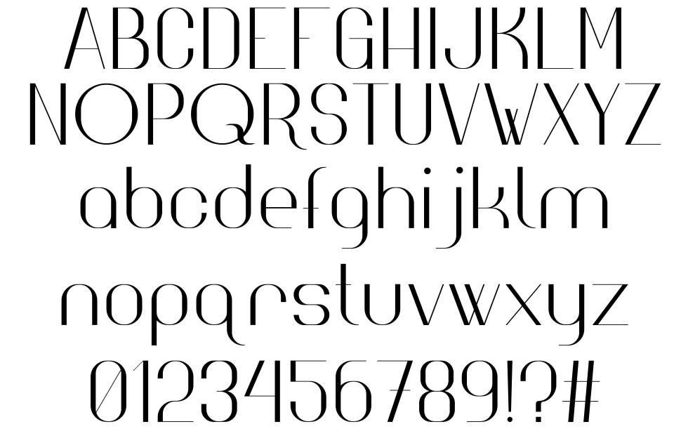 High Society font
