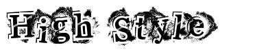 High Style font
