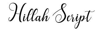 Hillah Script
