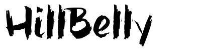 HillBelly font