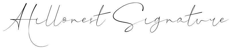 Hillonest Signature